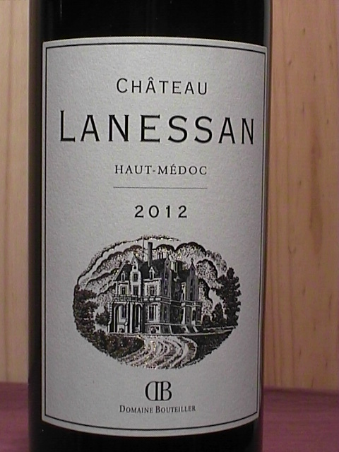 Haut medoc chateau lanessan 2012 htmedolane7512rg for Chateau lanessan